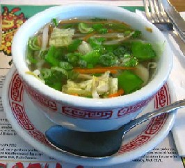 Chinese Vegetable Noodle Soup